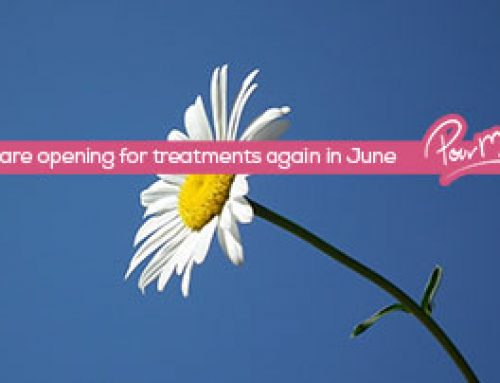 We Are Opening Again to Offer Treatments in June